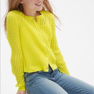 Gap Kids Pointelle Cardigan sweater